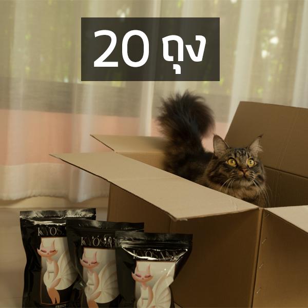 Kyosane Freeze-Dried Raw Cat Food Chicken Recipe Kidney Care Formula (20 packs)